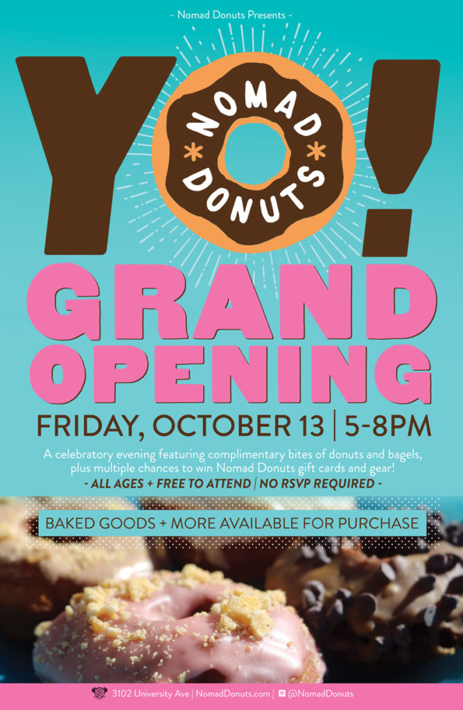 Nomad Donuts Grand Opening in San Diego