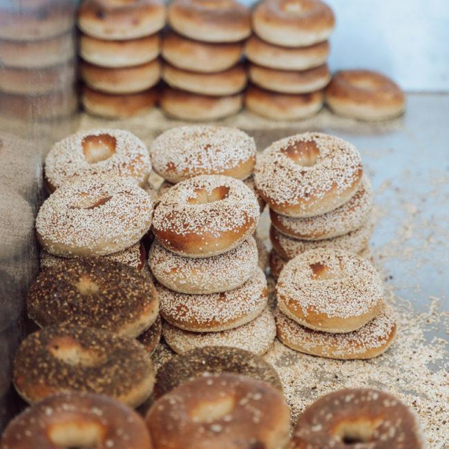 Nomad bagels in San Diego
